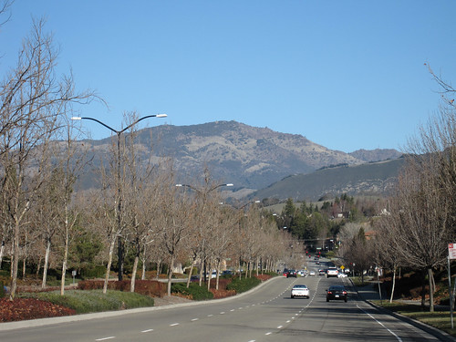 Mt. Diablo from San Ramon