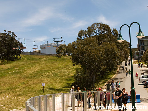 Mt Buller - The hill to the main stage