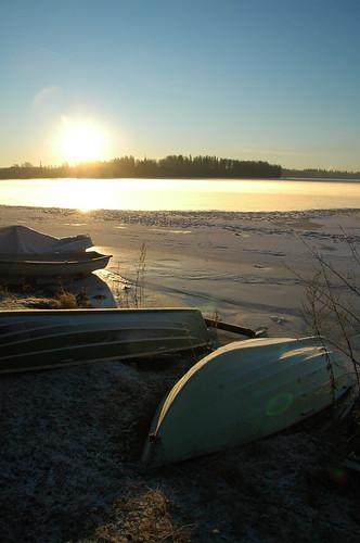Frozen Pyhäjärvi