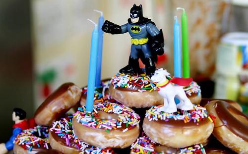 """Monkey Boy's doughnut """"cake"""""""