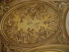 Detalle, La Grande Galerie, Louvre, Pars, Francia/D