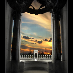 Arlington Memorial (Jerri Johnson (away)) Tags: sunset fountain architecture contrast square landscape washingtondc perception memorial explore wreath chapeau sensational marble tradition pillars wwiimemorial fff arlingtoncemetery grecoroman justimagine thebestofthebest fineartphotos brillianteyejewels thedavincitouch phvalue absolutegoldenmasterpiece themonalisasmile visionqualitygroup notexturemydeartexturefriendsohtheshock~}