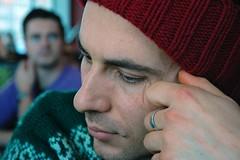 Thinking (mikael_on_flickr) Tags: portrait man berlin guy uomo thinking ritratto stefano ragazzo pensando thebestofday gününeniyisi