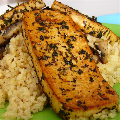 Grilled Herb Tofu