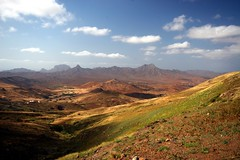 Cape Verde Landscape (Heaven`s Gate (John)) Tags: africa cruise light mountains nature clouds landscape scenery discovery capeverde saovicente otw mvdiscovery johndalkin heavensgatejohn capeverdelandscape