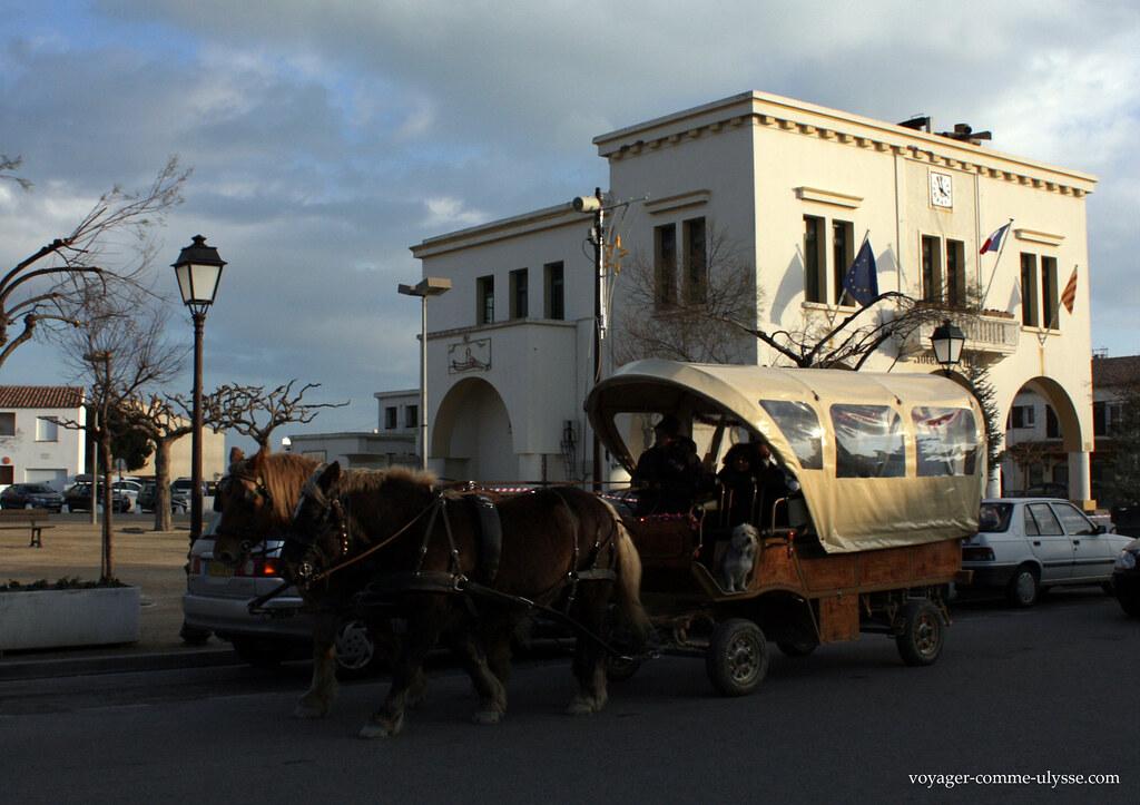 Carroça, para passear turistas