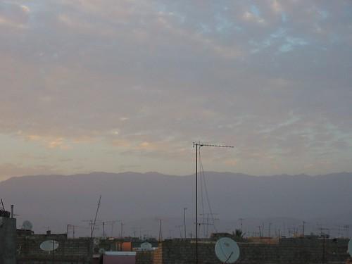 Zonsondergang in Taroudant