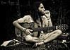His inspiration... (MIRANDA, Bruno) Tags: man brasil guitar homem pará anotherworldispossible belém violão amazônia brunomiranda worldsocialforum2009 umoutromundoépossível fórumsocialmundial2009