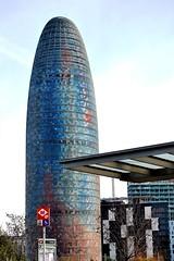 00 La torre Agbar 13548 (javier1949) Tags: barcelona color arqu