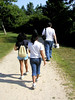 Family Outing, Bayard Cutting Arboretum (PJSherris) Tags: family walking island long hiking path olympus cutting bayard c4040z
