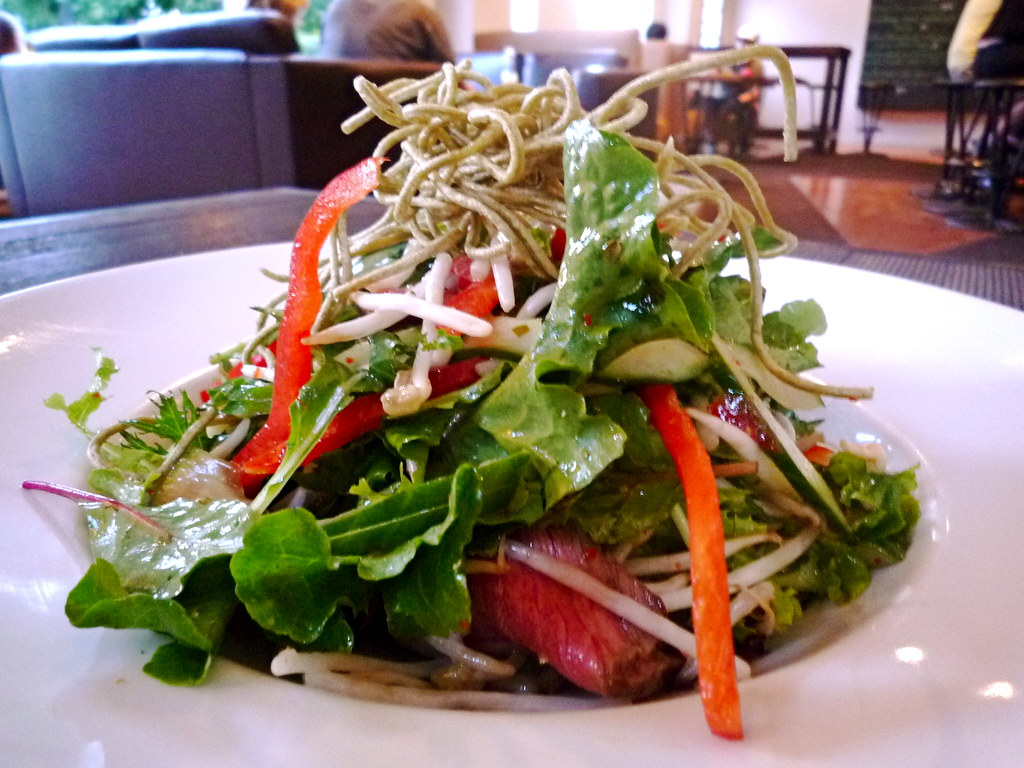 Cherry Tree Thai beef salad
