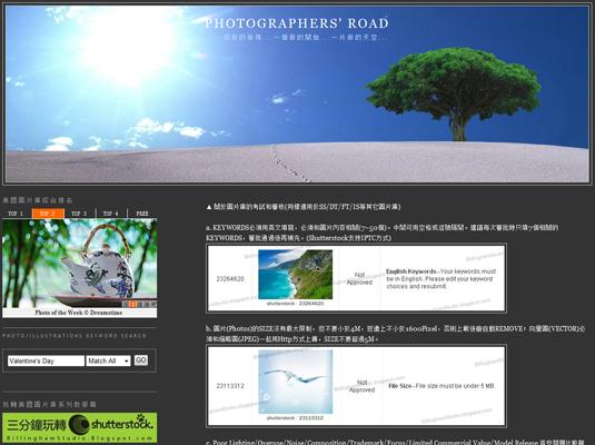 ◆◆ 上網賣照片  玩轉商業圖片庫全攻略 ◆◆