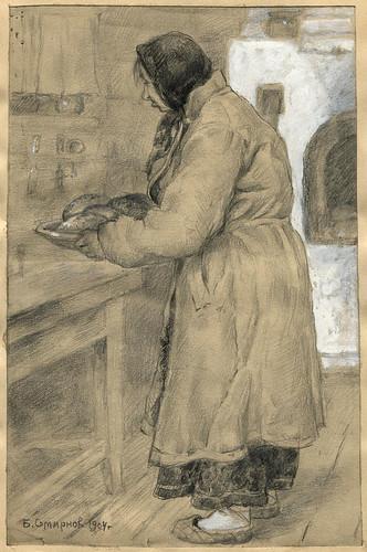 001- Bollos dulces al horno- Boris Smirnov 1904
