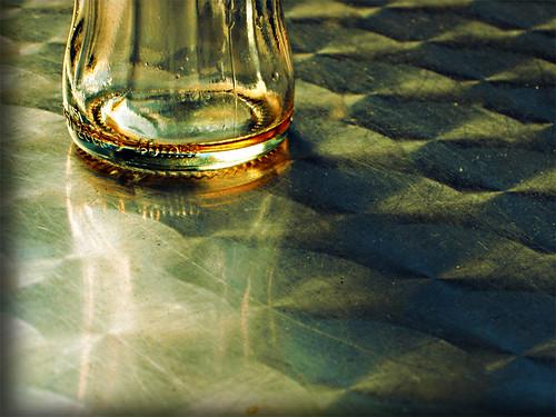 Reflejo botella