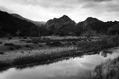 Malibu Creek State Park (segamatic) Tags: park trees bw mountains water clouds canon landscape eos state malibu malibucreek canonef24105mmf4lisusm photofaceoffwinner pfosilver 5dmarkii 5dmkii mc0309