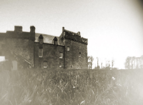 Hunterston castle pinhole on paper