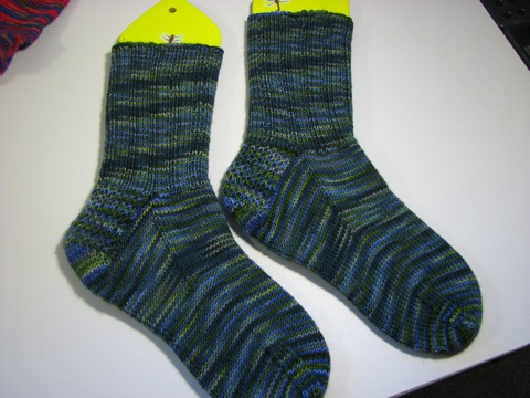 Nodding Violet Socks right