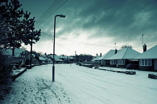 Ashurst in snow