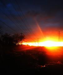 mile rd flixton carrington manchester (plot19) Tags: sunset england manchester nikon britain sale trafford carrington urmston flixton flixto