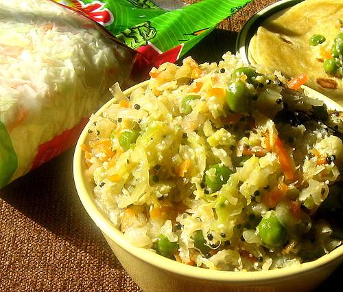 Cabbage Palya