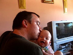 Daddy Kiss (still frame from video)