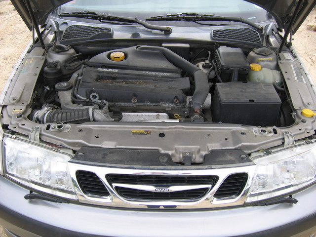 2001 Saab 95 turbo engine