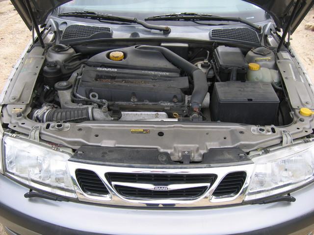 2001 Saab 95 turbo engine