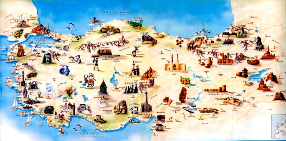 turkey old map