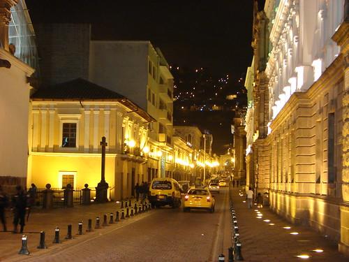 Calles de Quito Foto
