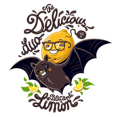 the delicious duo (akrapf) Tags: illustration lemon bat canvas delicious bacardi vector lafraise akrapf