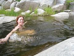 IMG_1347 (Zane Selvans) Tags: ca usa swimming weekend backpacking hesperia nudity swimminghole skinnydipping deepcreek michelleselvans