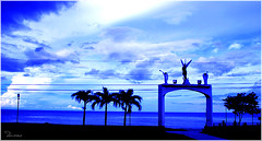 Sing to the Heavens (Douano) Tags: blue clouds angels cebu cloudscapes dandee boljoon nikond60 platinumheartaward boljooncebu platinumpeaceaward douano