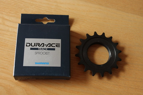 Dura ace grease and track cog
