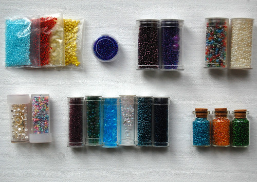 Seed Beads - My Sunday Stash
