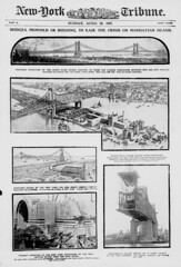 Bridges, proposed or building, to ease the crush on Manhattan Island. (LOC) (The Library of Congress) Tags: nyc newyorkcity bridge construction manhattan bridges manhattanbridge libraryofcongress buck proposal queensborobridge 59thstreetbridge blackwellsisland lindenthal hornbostel proposed gustavlindenthal xmlns:dc=httppurlorgdcelements11 henryhornbostel leffertlbuck dc:identifier=httpchroniclingamericalocgovlccnsn8303021419070428ed1seq17 northriverbridgecompany newyorkandnewjerseybridgecompany llbuck leffertbuck