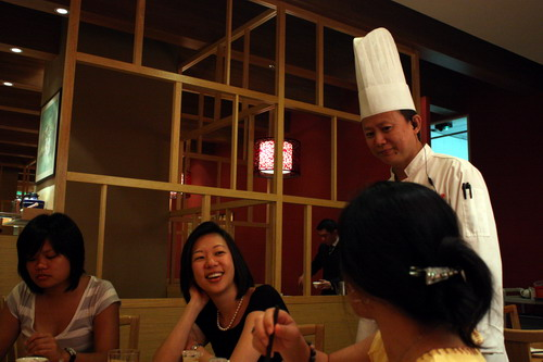 Din Tai Fung host Chef