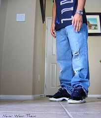 DSC03528 (Never Wear Them) Tags: 2001 blue black you space air royal nike wear jordan 01 what did jam today soles 2009 fit icey jumpman xi patent spacejam wdywt