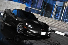 Corvette ZR1 (Talal Al-Mtn) Tags: blue red black yellow canon is model top gear most motor kuwait manual expensive corvette ever powerful 2009 v8 vette c5 c6 supercharged q8 z06 the zr1 kwt corvettezr1 talalalmtn