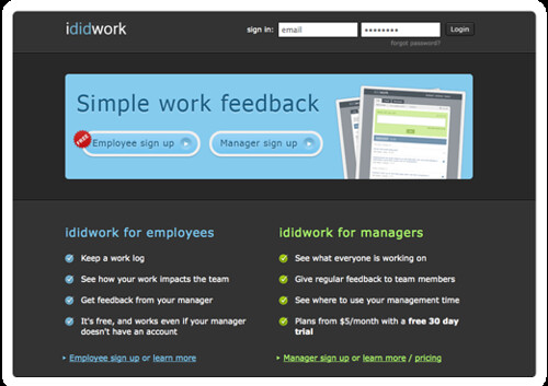 ididwork - The work log that shares