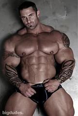 Hunks with big nipples