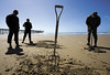 "Clam Survey in Pismo Beach • <a style=""font-size:0.8em;"" href=""http://www.flickr.com/photos/98558265@N00/3876382398/"" target=""_blank"">View on Flickr</a>"