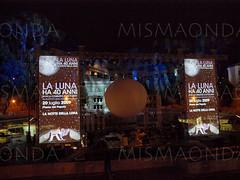 La notte della Luna (mismaonda) Tags: show moon roma talk luna concerto landing da 40 moby angela piero eventi tozzi morricone fotografare pasquali stagno proiezioni vittori sbarco saggese ubertini veredice laruffa mismaonda