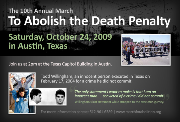 10th Annual March to Abolish the Death Penalty