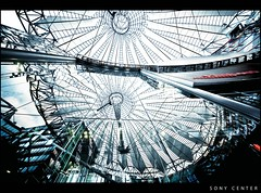 Sony Center (Feldman_1) Tags: berlin germany deutschland widescreen sonycenter architektur canon5d 1224 feldman feldman1 sigmaf451224