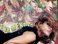 Eva Mendes #2 (@_Soka) Tags: blur photoshop lights eva waves sharpen mendes blend soka coloreful