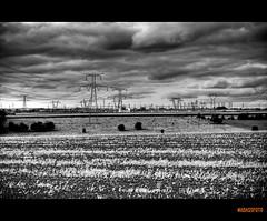 fDSC_9049_50_51_tonemapped (nadassfoto) Tags: orange white black color automne rouge nikon noir noiretblanc champs vert nb bleu route 24 28 nikkor mur 70 lorraine campagne blanc couleur orage d3 lierre moselle meurthe