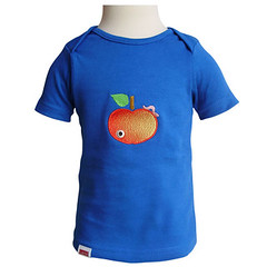 Appelworm by Larie (Larienet) Tags: embroidery craft tshirt borduren larie