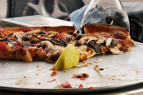 Oysters Kilpatrick... Pizza
