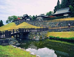 Noh theatre Akita Japan. © Glenn E Waters. Over  12,000 visits to this image.  Thank you. (Glenn Waters ぐれんin Japan.) Tags: fish japan garden japanese design pond nikon theatre noh koi akita 池 秋田県 鯉 能 ニコン d700 大仙市 nikond700 homersiliad ぐれん glennwaters 能楽澱 まほろば唐松