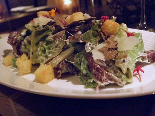 Heirloom Lettuce Salad with Summer Truffles